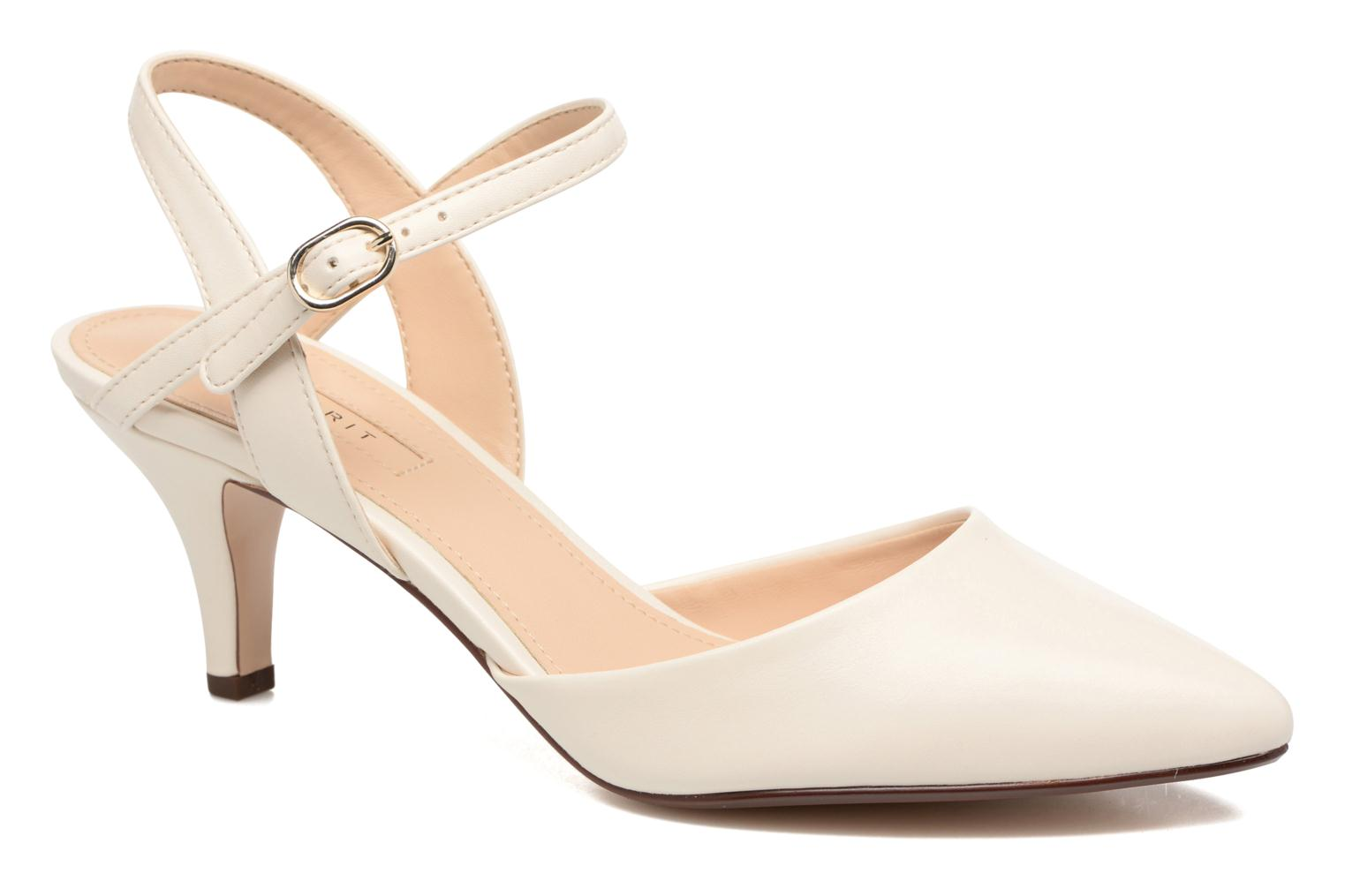 High heels Esprit Pyra Sandal White detailed view/ Pair view