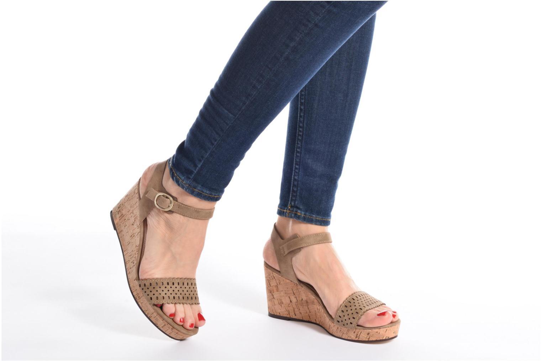 Sandals Esprit Gessie Sandal Blue view from underneath / model view