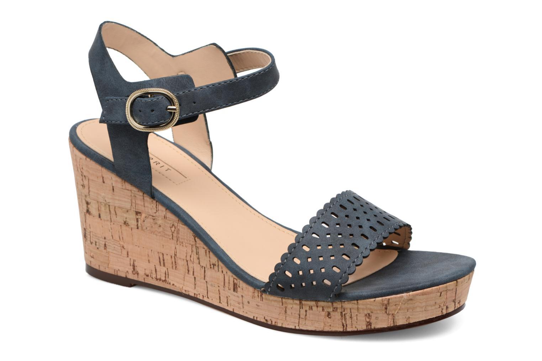 Sandals Esprit Gessie Sandal Blue detailed view/ Pair view