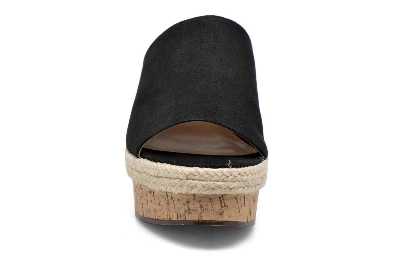 Clogs & Pantoletten Esprit Fary mule schwarz schuhe getragen