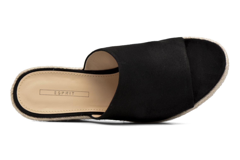 Clogs & Pantoletten Esprit Fary mule schwarz ansicht von links