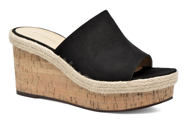 Clogs & Pantoletten Esprit Fary mule schwarz detaillierte ansicht/modell