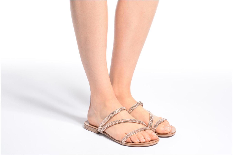 Sandales et nu-pieds Esprit Nil sandal 2 Beige vue bas / vue portée sac