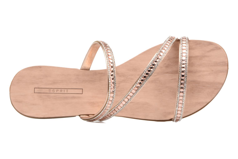 Sandales et nu-pieds Esprit Nil sandal 2 Beige vue gauche