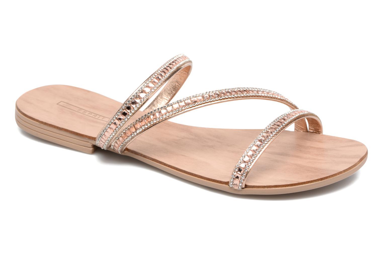 Sandales et nu-pieds Esprit Nil sandal 2 Beige vue détail/paire