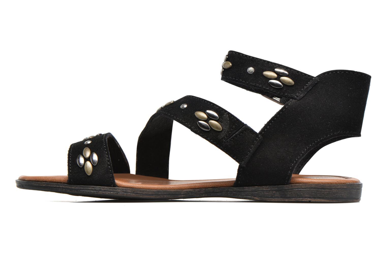 Sandales et nu-pieds Minnetonka Tangier Noir vue face