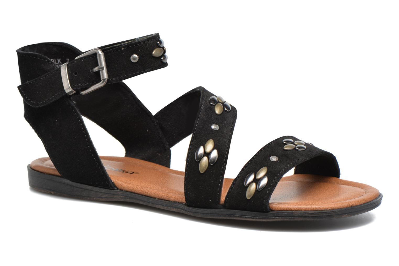 Sandales et nu-pieds Minnetonka Tangier Noir vue détail/paire