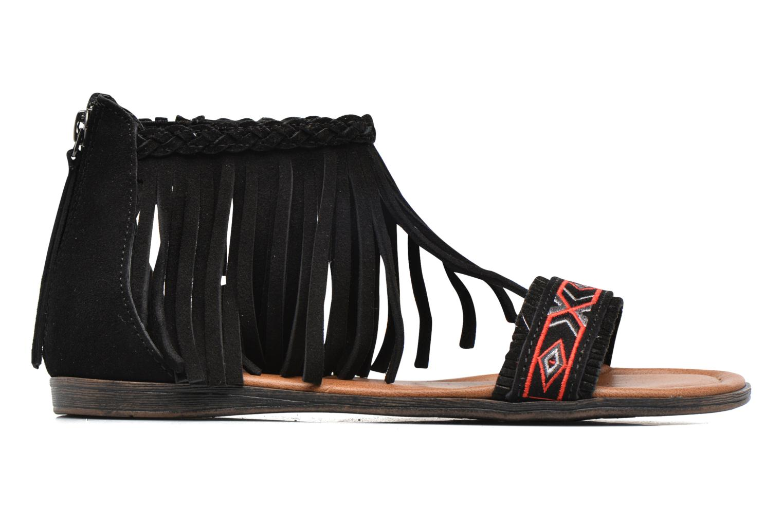 Sandalen Minnetonka Morocco schwarz ansicht von hinten