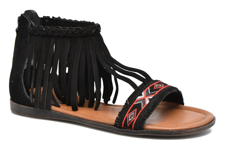 Sandalen Minnetonka Morocco schwarz detaillierte ansicht/modell