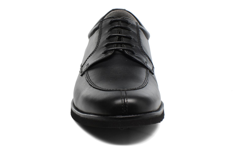 Scarpe con lacci Sledgers Elliott Nero modello indossato