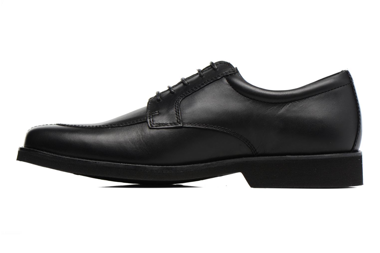 Chaussures à lacets Sledgers Elliott Noir vue face