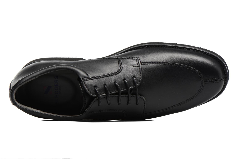 Chaussures à lacets Sledgers Elliott Noir vue gauche