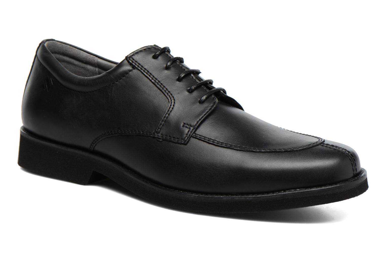 Chaussures à lacets Sledgers Elliott Noir vue détail/paire