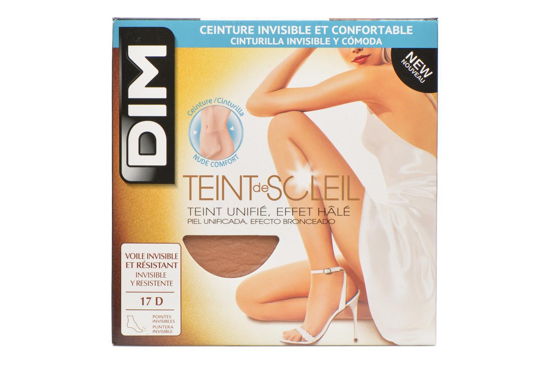 Chaussettes et collants Dim Collant TEINT DE SOLEIL Pack de 2 Beige vue détail/paire