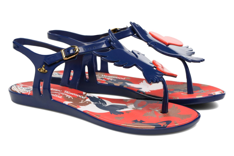 Sandali e scarpe aperte Melissa Melissa x Vivienne Westwood - Solar Ii Azzurro immagine 3/4