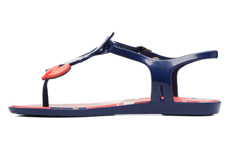 Sandali e scarpe aperte Melissa Melissa x Vivienne Westwood - Solar Ii Azzurro immagine frontale