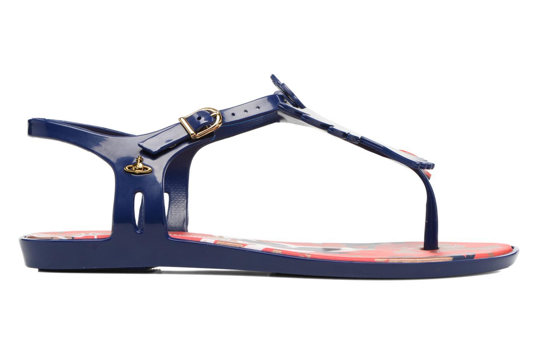 Sandali e scarpe aperte Melissa Melissa x Vivienne Westwood - Solar Ii Azzurro immagine posteriore