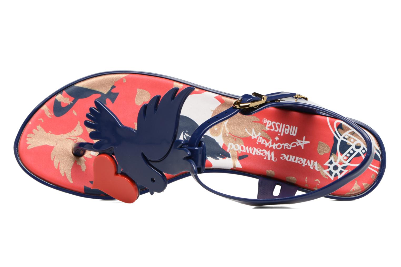 Sandali e scarpe aperte Melissa Melissa x Vivienne Westwood - Solar Ii Azzurro immagine sinistra