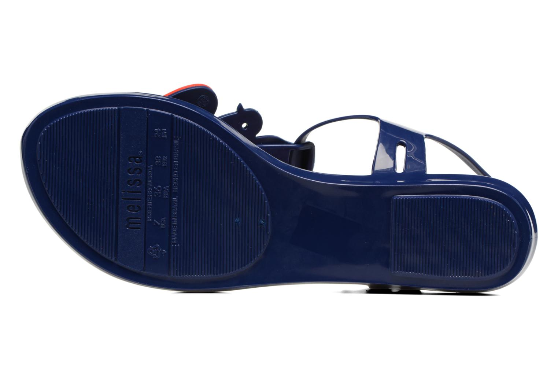 Sandali e scarpe aperte Melissa Melissa x Vivienne Westwood - Solar Ii Azzurro immagine dall'alto