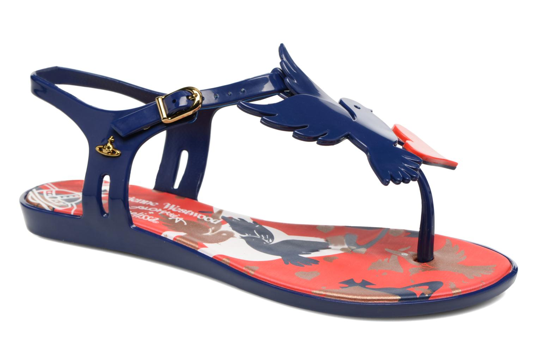 Sandaler Melissa Melissa x Vivienne Westwood - Solar Ii Blå detaljeret billede af skoene