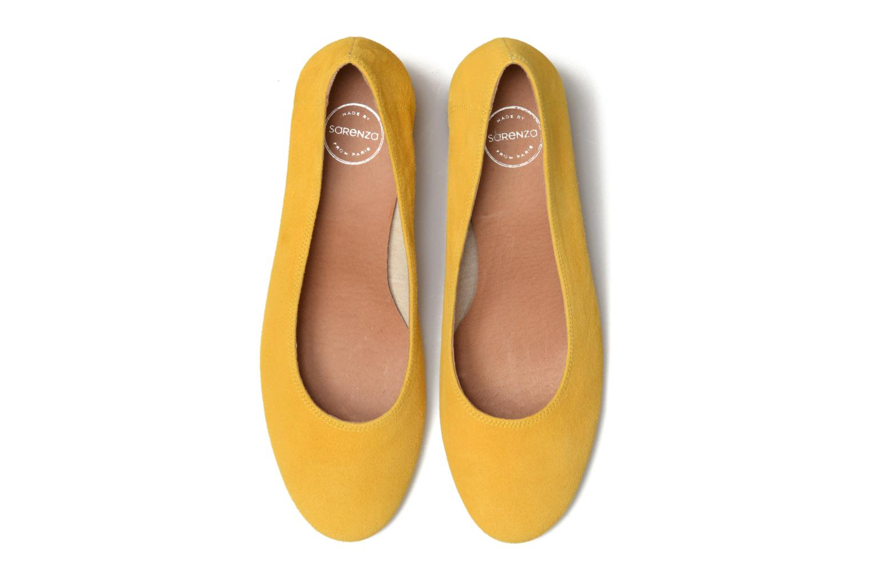 Escarpins Made by SARENZA Busy Girl Escarpins #4 Jaune vue portées chaussures