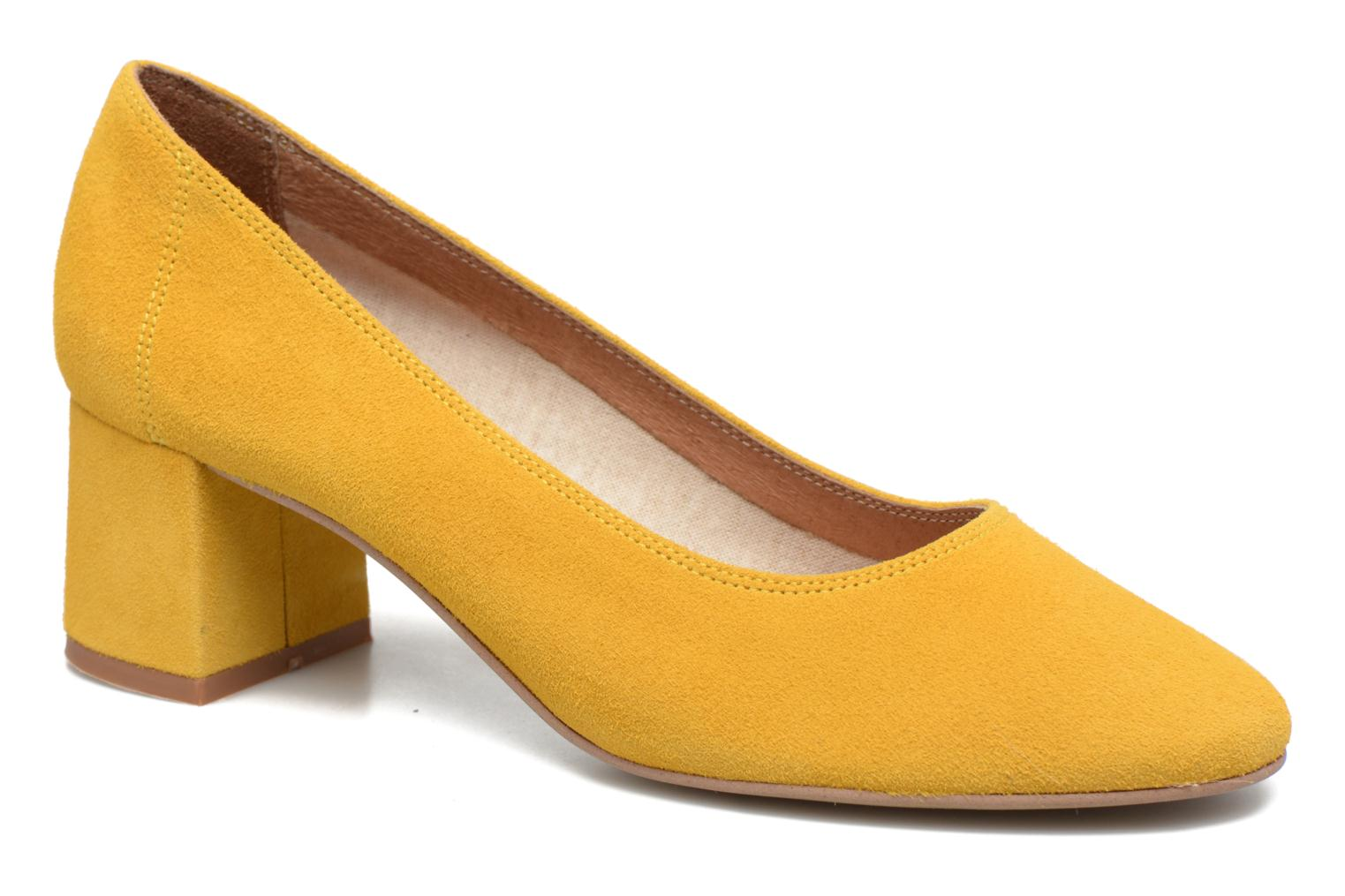 High heels Made by SARENZA Busy Girl Escarpins #4 Yellow view from the right