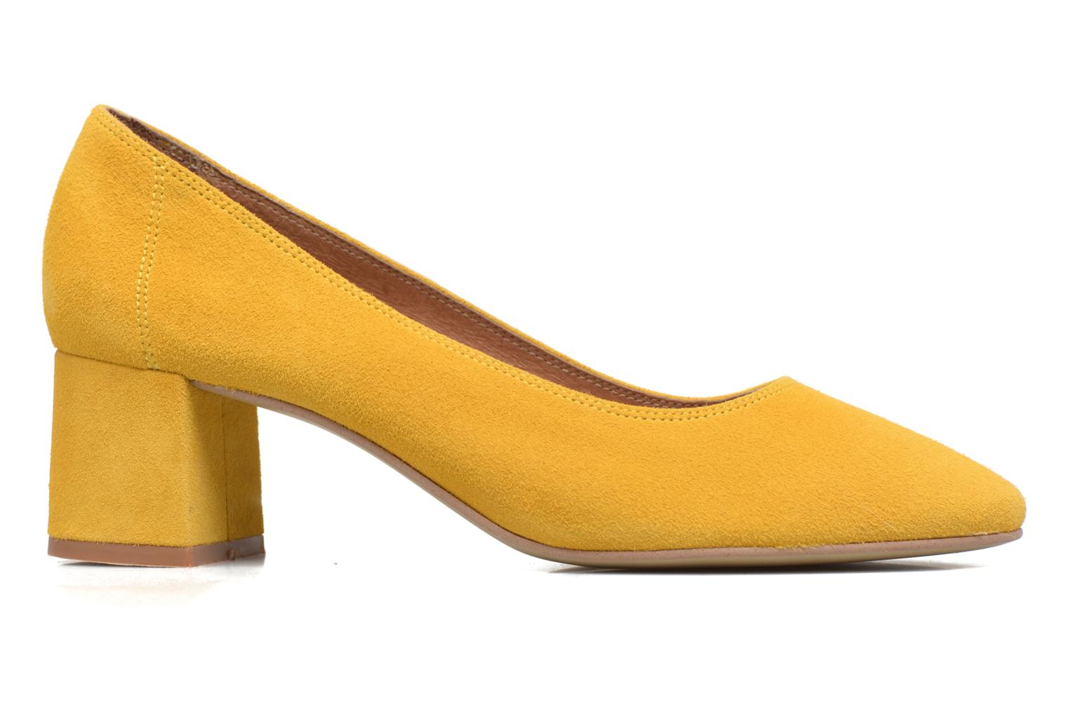High heels Made by SARENZA Busy Girl Escarpins #4 Yellow detailed view/ Pair view