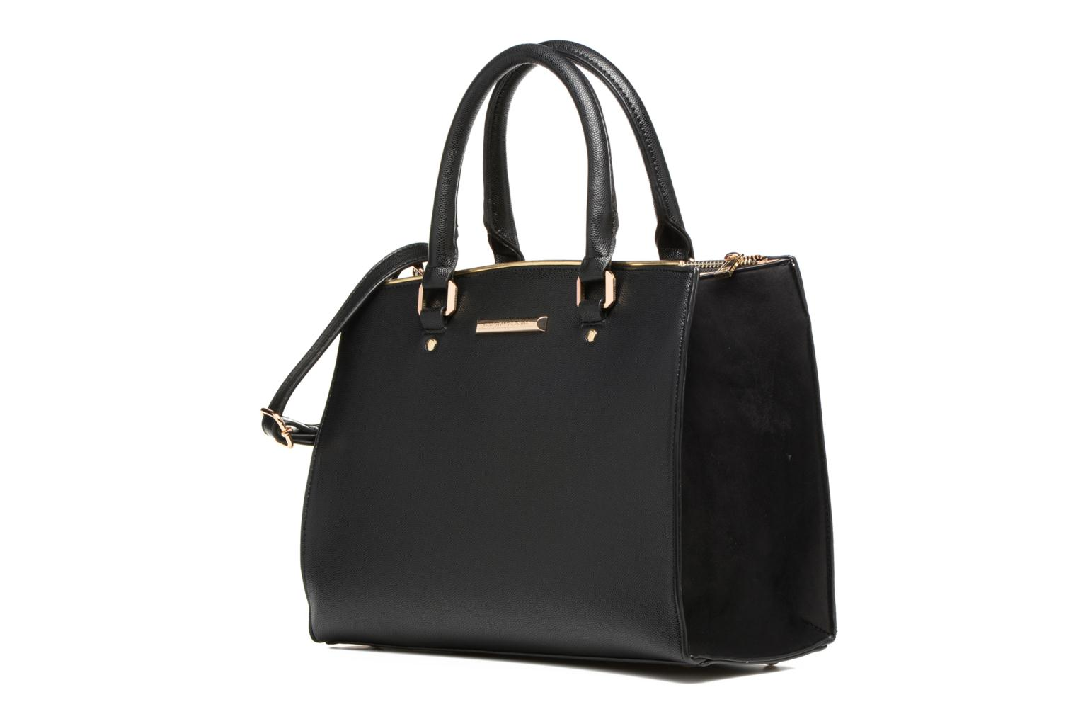 Piped Tote Black/gold