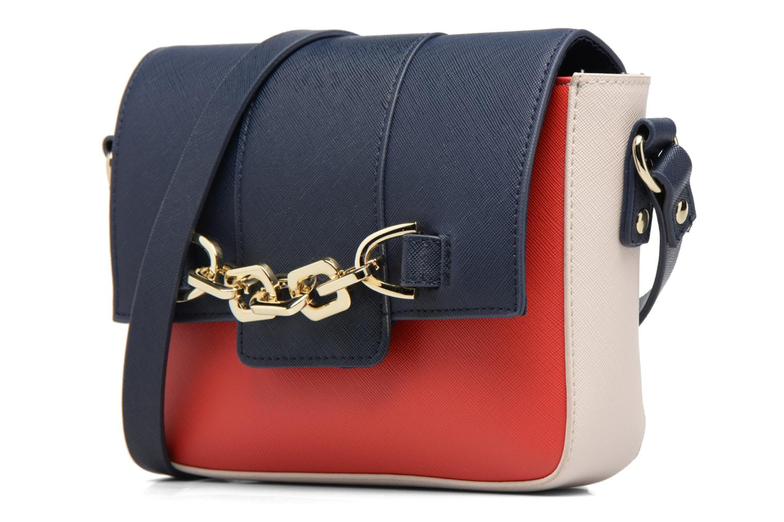 Chain Crossbody Redwhiteblue