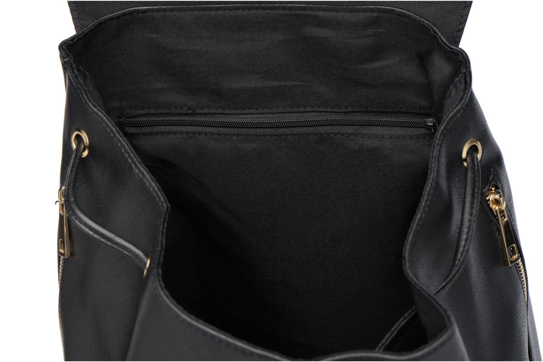 Sacs à dos Dorothy Perkins Foldover Backpack Noir vue derrière