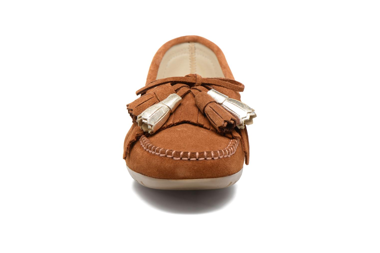 Loafers Georgia Rose Retoumi Brown model view