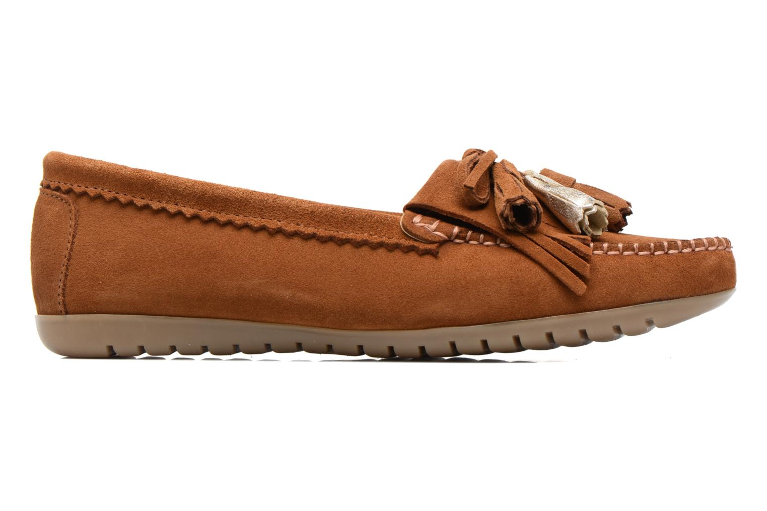 Loafers Georgia Rose Retoumi Brown back view
