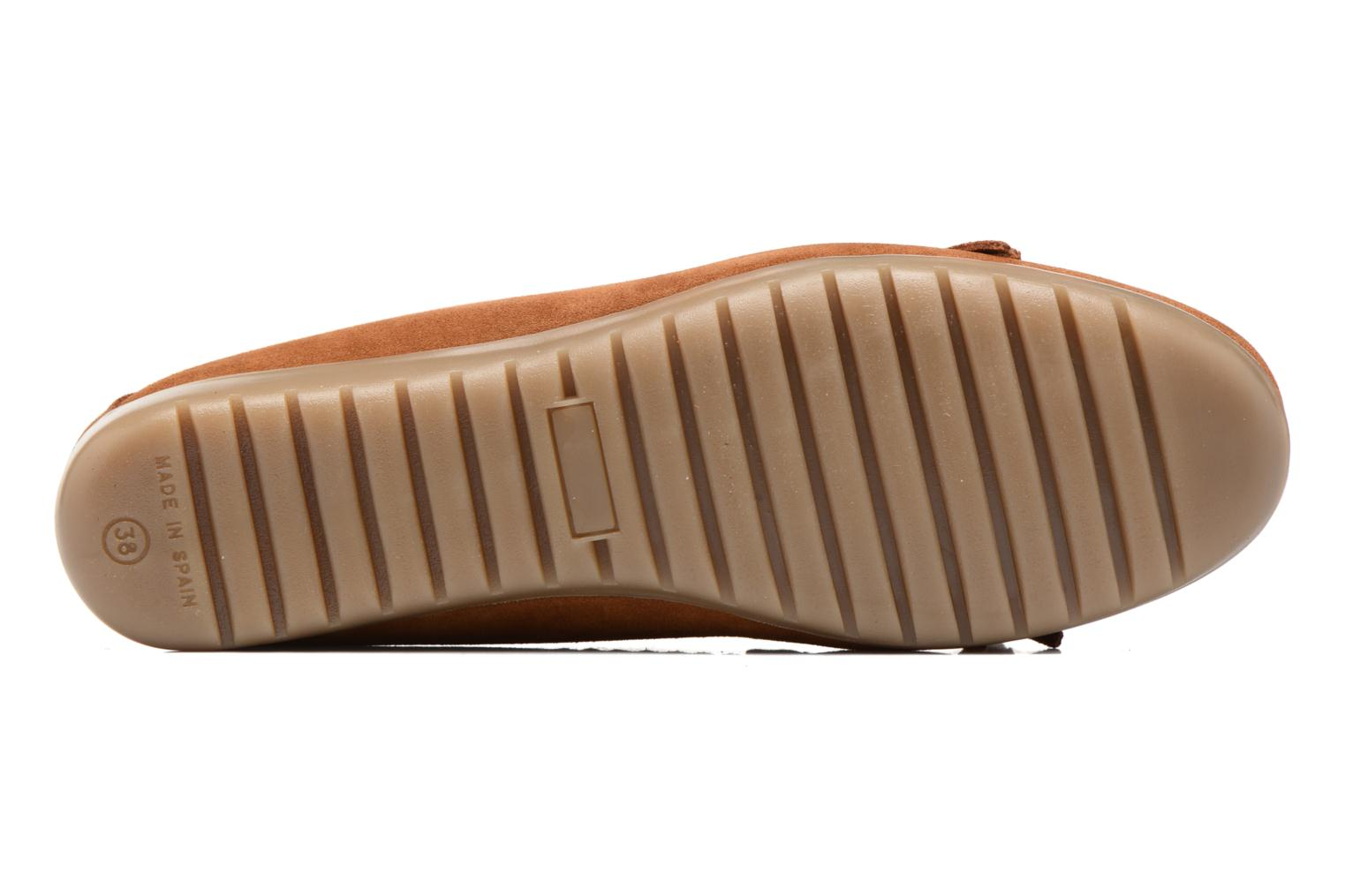 Loafers Georgia Rose Retoumi Brown view from above