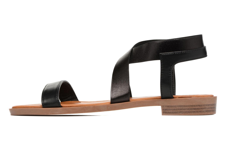 Sandals I Love Shoes THAVA Size + Black front view