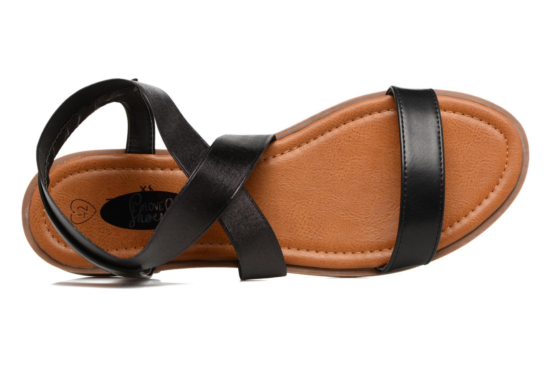 Sandalen I Love Shoes THAVA Size + schwarz ansicht von links