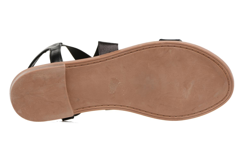 Sandalen I Love Shoes THAVA Size + schwarz ansicht von oben