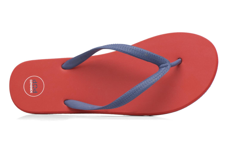 Zehensandalen SARENZA POP Diya M Tong  Flip Flop rot ansicht von links