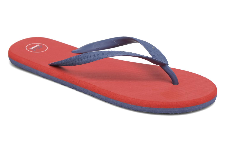 Tongs SARENZA POP Diya M Tong  Flip Flop Rouge vue détail/paire