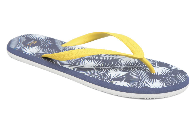 Diya M Tong  Flip Flop yellowDark Blue