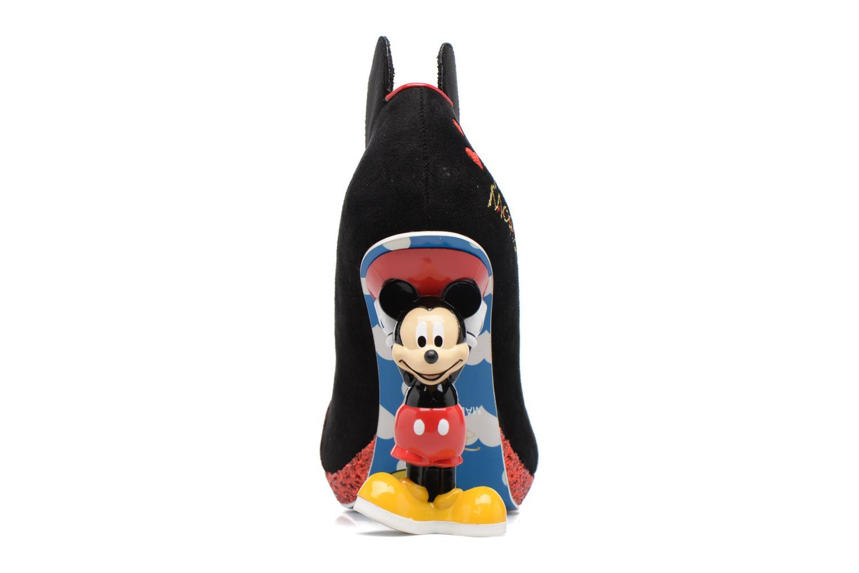 Escarpins Irregular Choice Mickey Mouse Multicolore vue droite