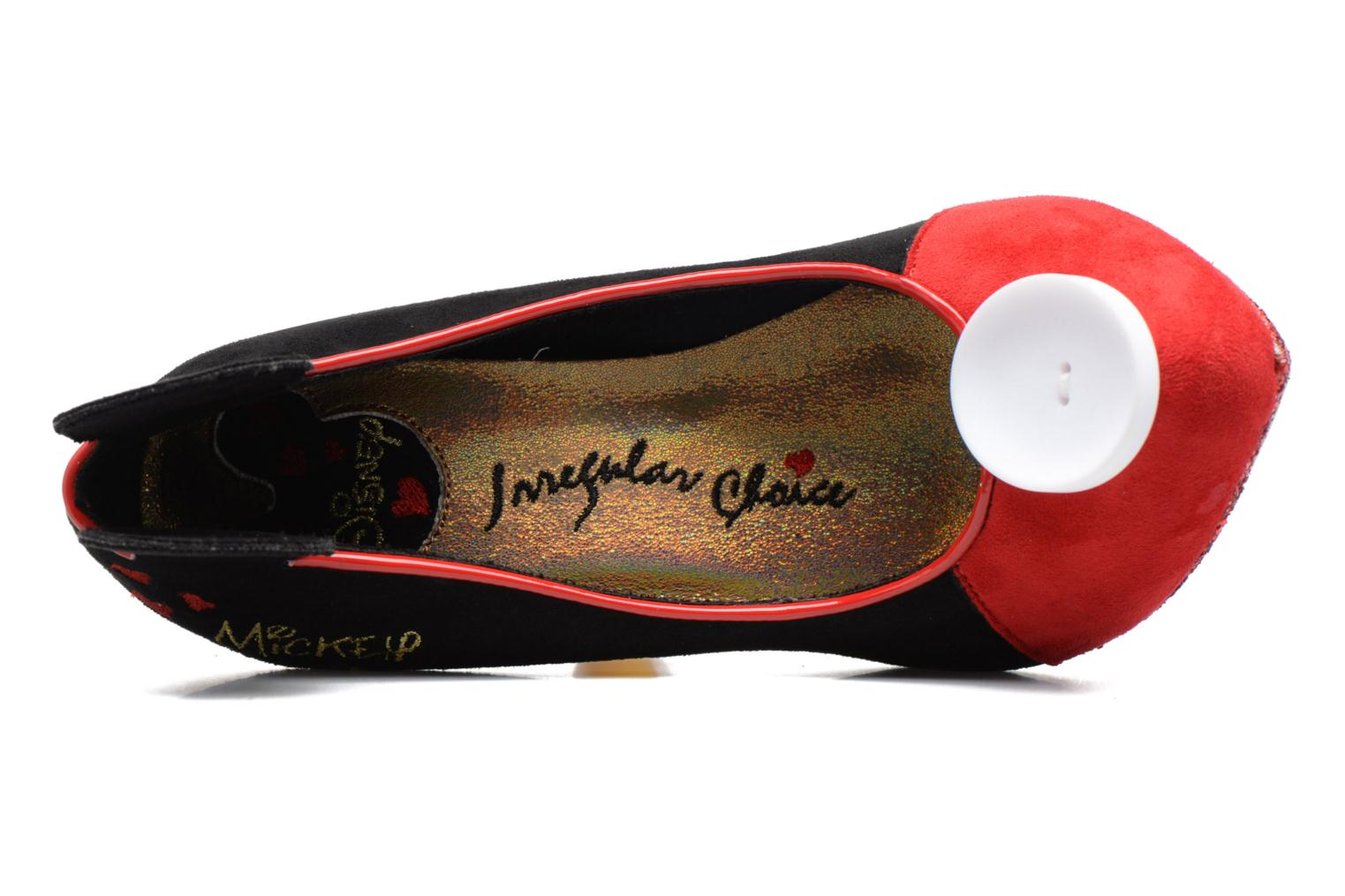 High heels Irregular choice Mickey Mouse Multicolor view from the left
