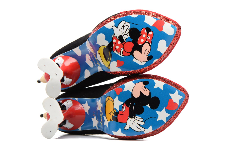 Escarpins Irregular Choice Mickey Mouse Multicolore vue haut
