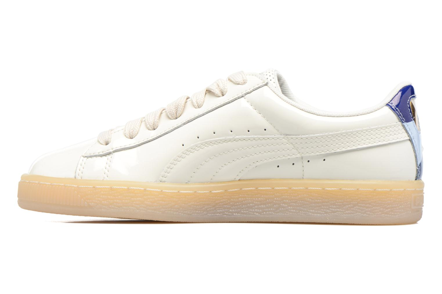 Whisper white Puma PUMA x CAREAUX Basket (Blanc)