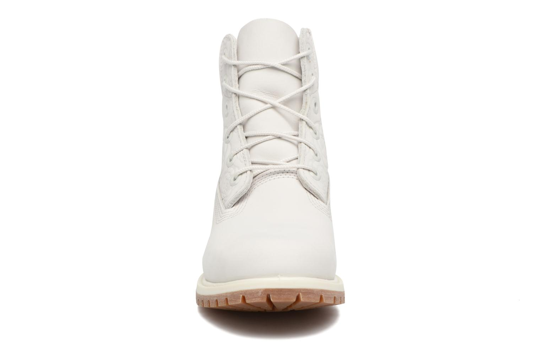 Stiefeletten & Boots Timberland 6in Prenium Boot weiß schuhe getragen