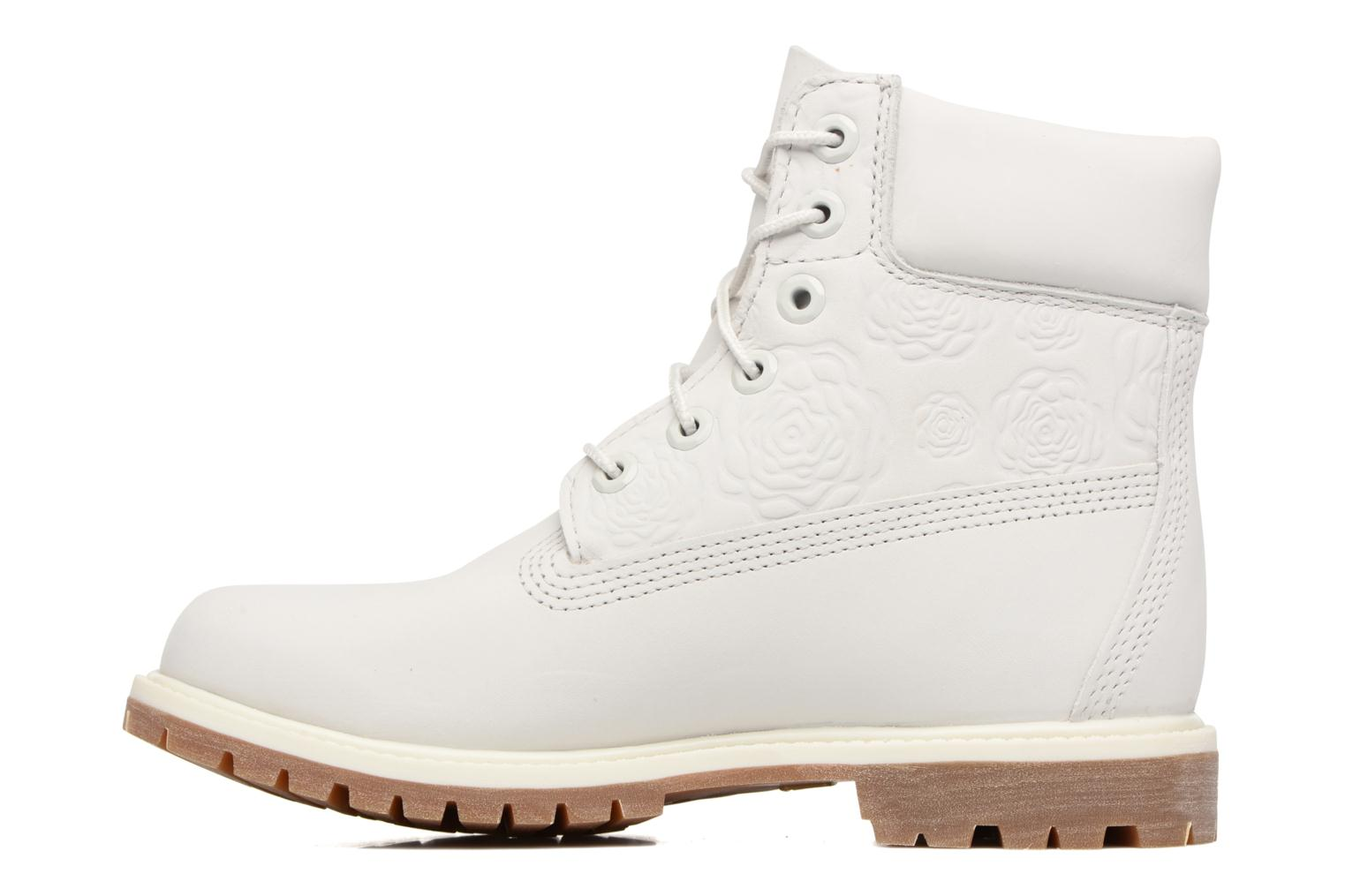 Bottines et boots Timberland 6in Prenium Boot Blanc vue face