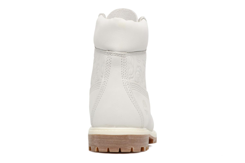 Bottines et boots Timberland 6in Prenium Boot Blanc vue droite