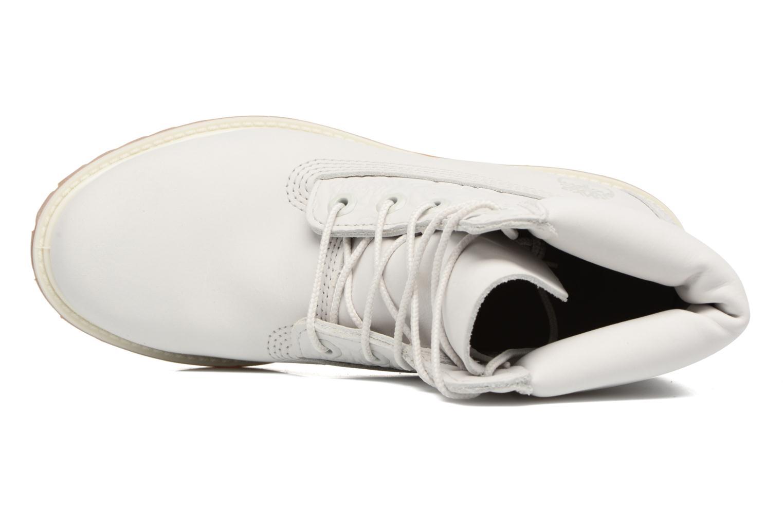 Bottines et boots Timberland 6in Prenium Boot Blanc vue gauche