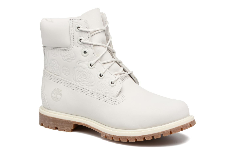 Bottines et boots Timberland 6in Prenium Boot Blanc vue détail/paire