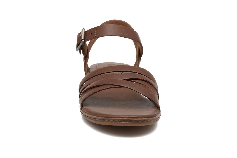 Sandales et nu-pieds Timberland Cherrybrook Ankle Strap Marron vue portées chaussures