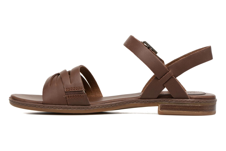 Sandales et nu-pieds Timberland Cherrybrook Ankle Strap Marron vue face